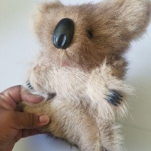 Toys - Australia Koala bear with kangaroo fur